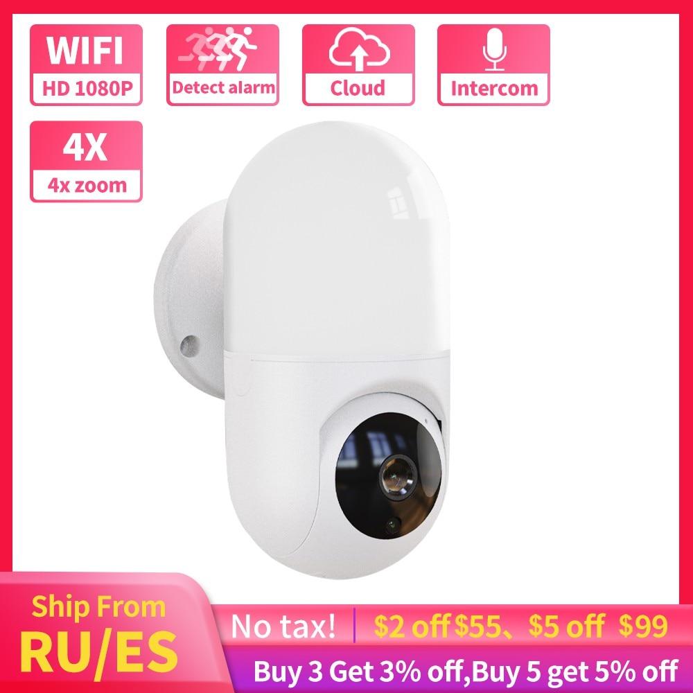 Yoosee-Lámpara de pared de seguridad para el hogar, videocámara IP inteligente de...