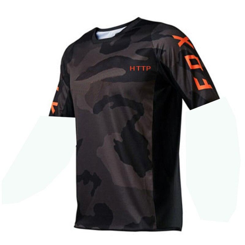 Maillot de ciclismo para hombre, camiseta de Motocross de secado rápido, camisa...