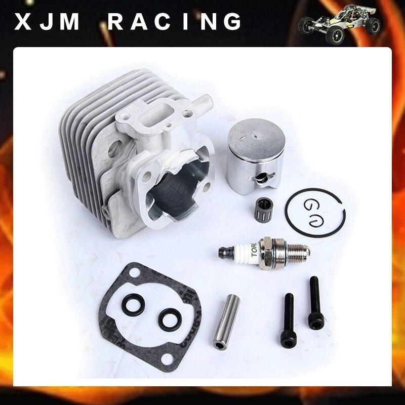 2 отверстия 29cc набор двигателя подходит 1/5 Hpi Rofun Rovan Km Baja 5b 5t 5sc Losi 5ive детали игрушек