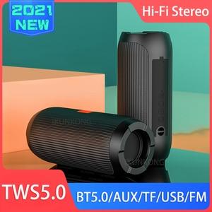 Портативный Bluetooth динамик Беспроводная басовая Колонка Водонепроницаемая наружная USB Колонка s поддержка AUX TF сабвуфер громкий динамик TG117 Портативные колонки колонка беспроводная блютуз колонка радиоприёмник