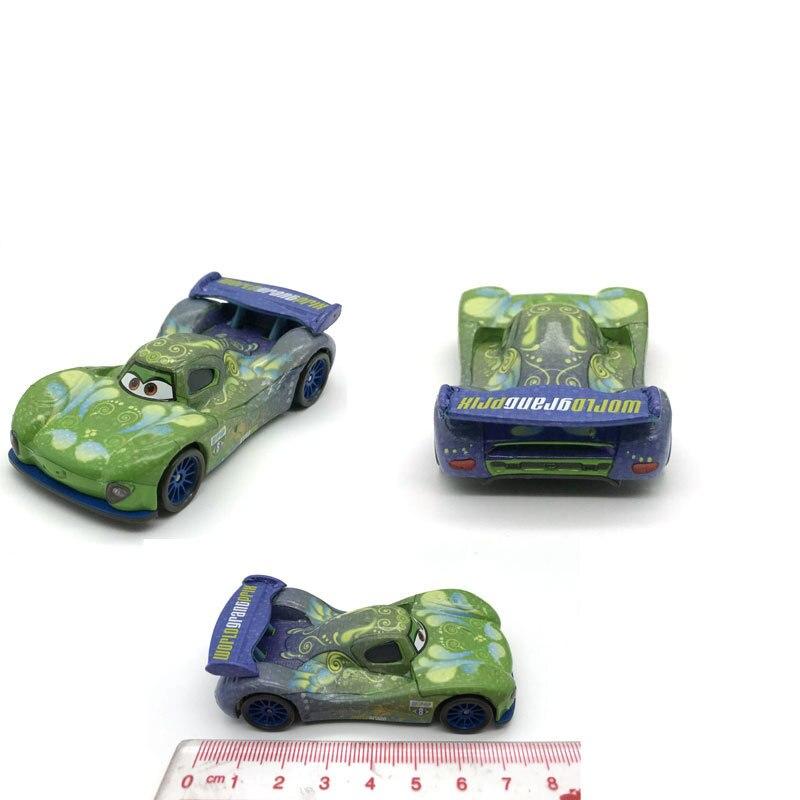 Disney pixar Тачки 2 3 игрушки Молния Маккуин Мэтт Джексон шторм Рамирес 1:55 литой металлический автомобиль детская игрушка подарок