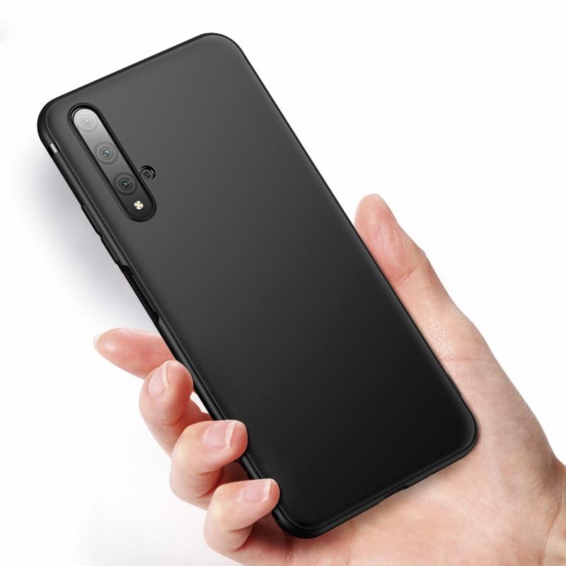 CAPSSICUM Ultra-mince étui souple mat pour Huawei Honor 20 étuis 20 PRO 20S 20i lite housse souple en TPU pour Honor 20 Pro 20s 20i