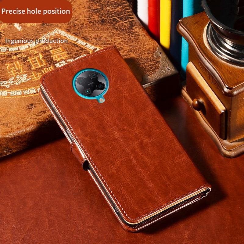 For Xiaomi Mi 9T Pro Case Leather Phone Cover on Capa Redmi K20 PocoPhone POCO F2 Pro F1 Flip Case on Pocophone F2 Pro Case etui