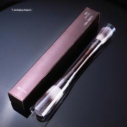 Dupla cabeça pincéis de maquiagem definir escova em pó maquiagem grande pó fundação escova afilada highlighter escova de maquiagem ferramenta