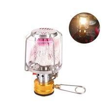 Chaude en plein air Camping gaz lanterne Portable Mini lampe à gaz tente lampe torche lampe suspendue pour Camping randonnée