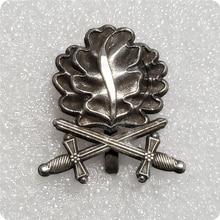 Античные серебряные дубовые листья булавка брошь в форме меча значок Германия Ювелирные изделия для мужчин Патриот подарок рубашки пиджак аксессуар