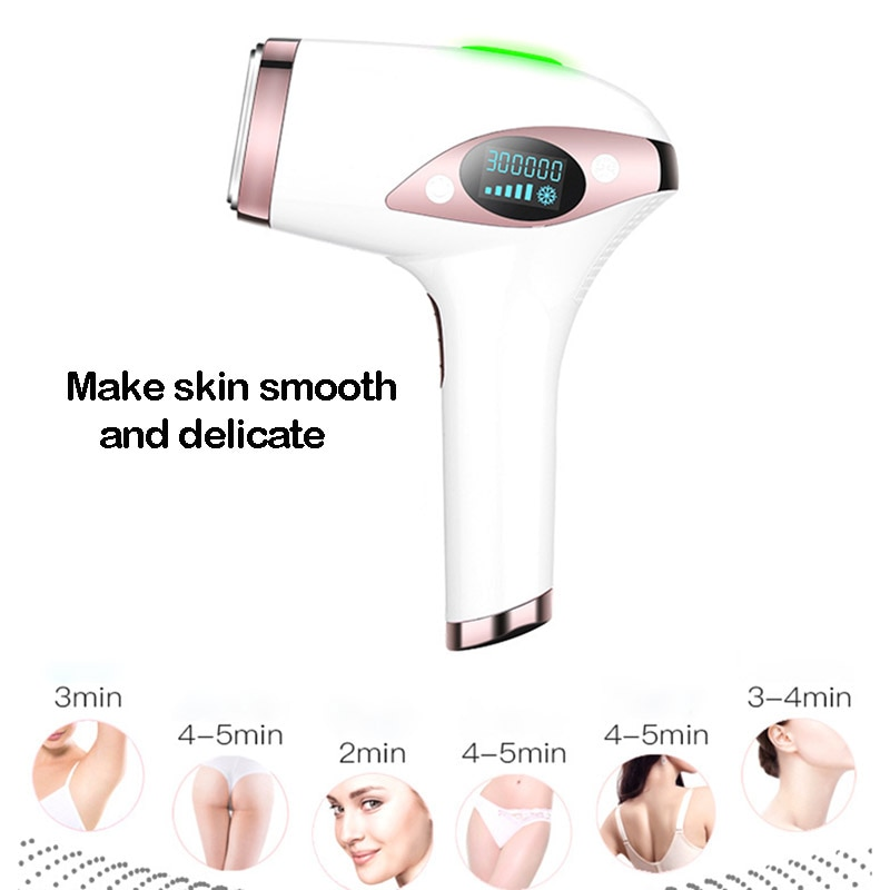 IPL Laser Hair Removal Instrument Freezing Point Painless Electric Epilator Men and Women Full Body Bikini Hair Removal Device enlarge