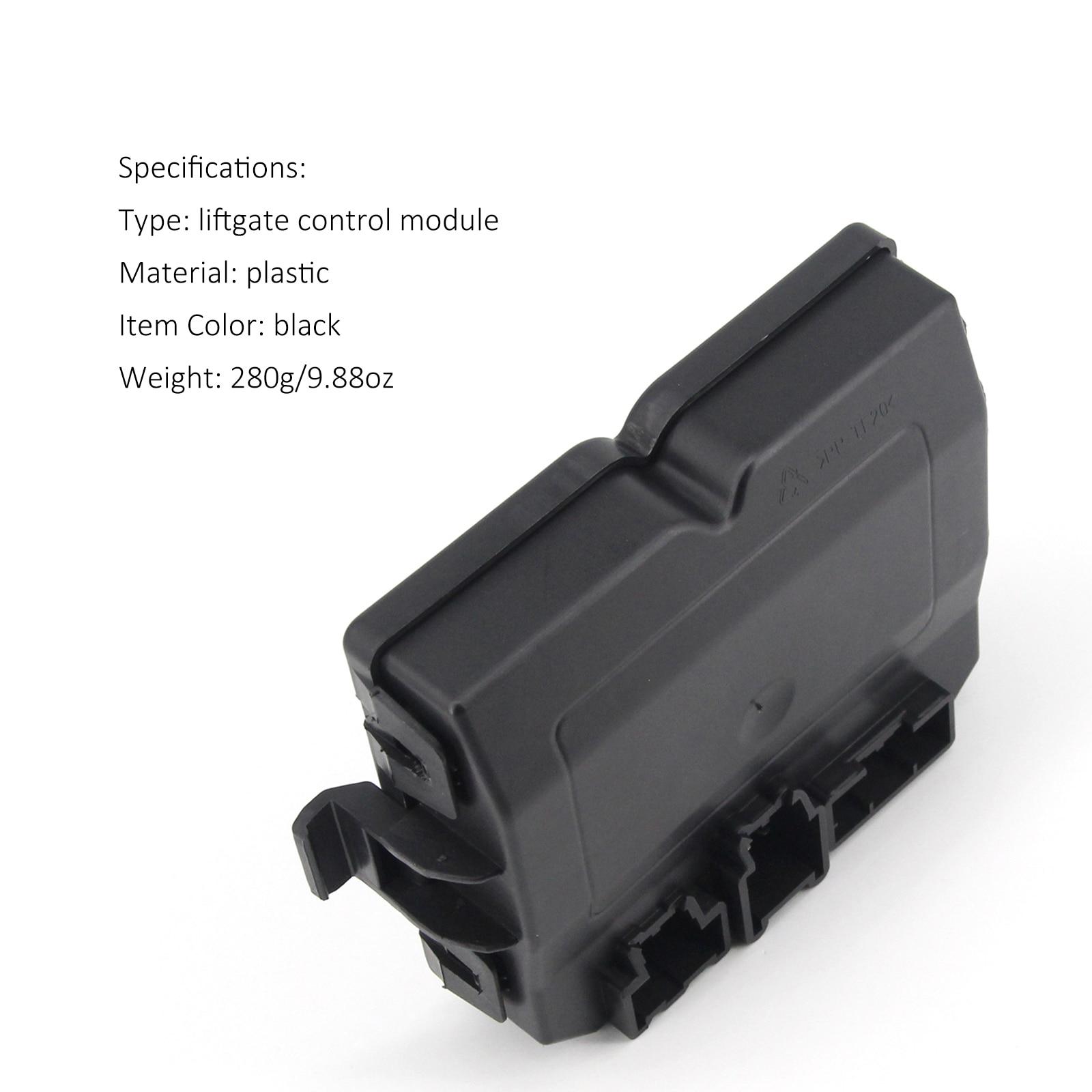 Trunk Liftgate Control Module Black Plastic Replacement Rear Lift Gate Control Module for Cadillac SRX 2010-2015 Car Automobile enlarge
