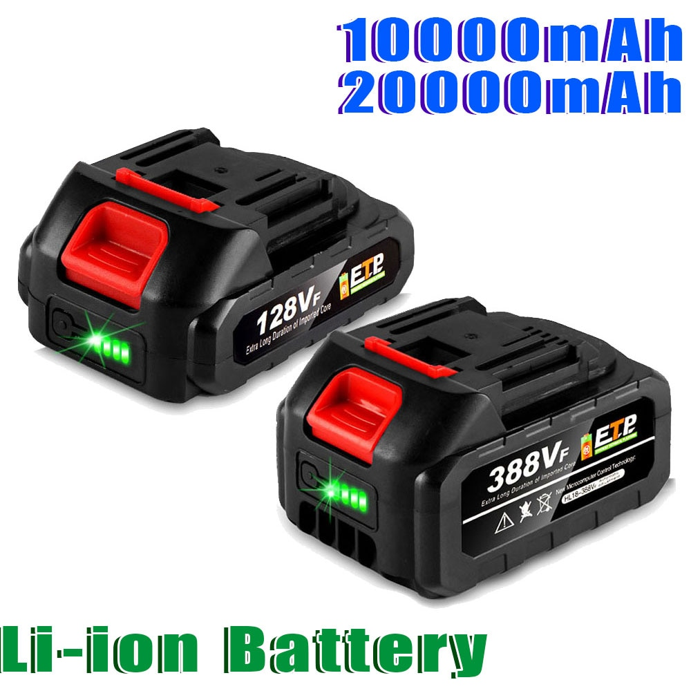 21V Lithium Ion Battery Rechargeable Battery for Makita 18V B series With Battery Indicator  Lithium Ion Battery EU Plug environmental original mindray li24i002a 5800mah 14 8v rechargeable lithium ion battery