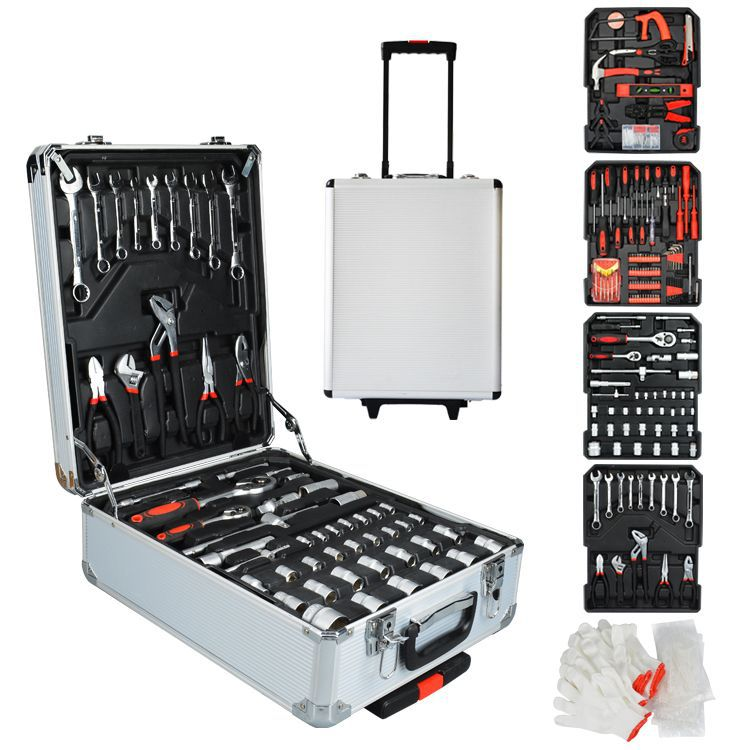 new iron metal hand toolbox power tools storage box multi purpose portable repair tool box hardware accessories Home Outdoor Storage Box Portable Hardware Toolbox Drawer Parts Case Small Tool Box Garage Accessories Boite Outils Tools Eg50gj