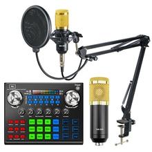 Конденсаторный микрофон bm 800, конденсаторный микрофон для телефона, компьютера, караоке, пения, игр, студийной записи