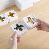 multifunctional drawer classified cross visual storage box combined with desktop sundries garbage plastic lid kitchen organizer