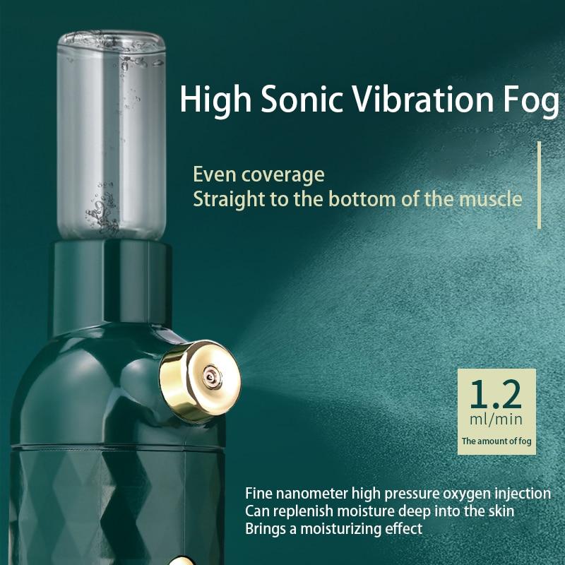 Nano Facial Sprayer USB Moisturizing Humidifier Rechargeable Portable Moisturizing Water Replenishin