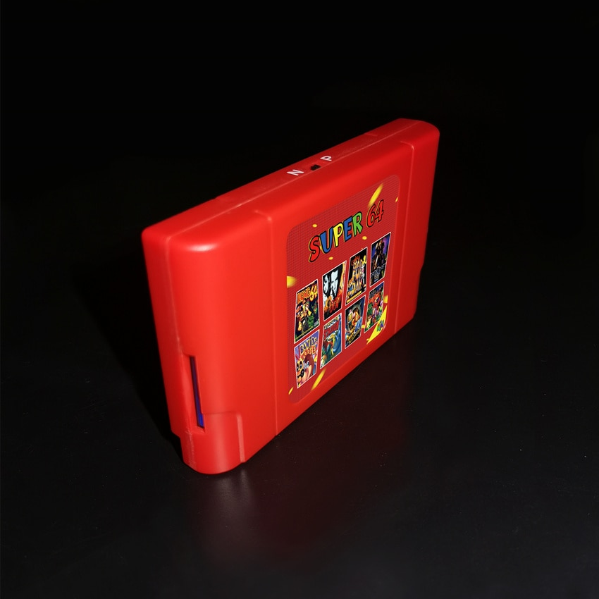 Game box 340 in 1 for N64 console, New Retro KY technology game card, new enlarge
