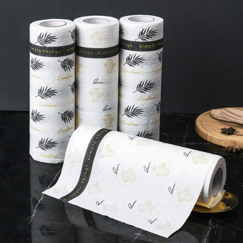 Platos creativos de lavado de platos de cocina estilo de limpieza nórdico reutilizable toallas de tela fruta hogar cinta herramienta redonda