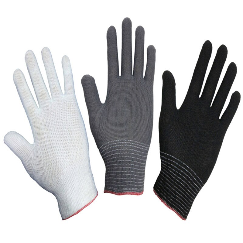 2PCS Hot Antistatic Gloves Anti Static ESD Electronic Working Gloves Pu Finger Coated Finger PC Antiskid for Finger Protection hot pvc cordless wireless clip antistatic anti static esd wristband wrist strap discharge cables for electrician ic plcc worker