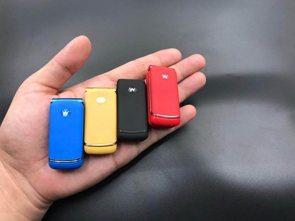 Venta al por mayor 5 uds Ulcool F1 Mini teléfono móvil con tapa GSM 300mAh 32MB Bluetooth Smallst respaldo portátil teléfono móvil PK BM70 BM50 BM60