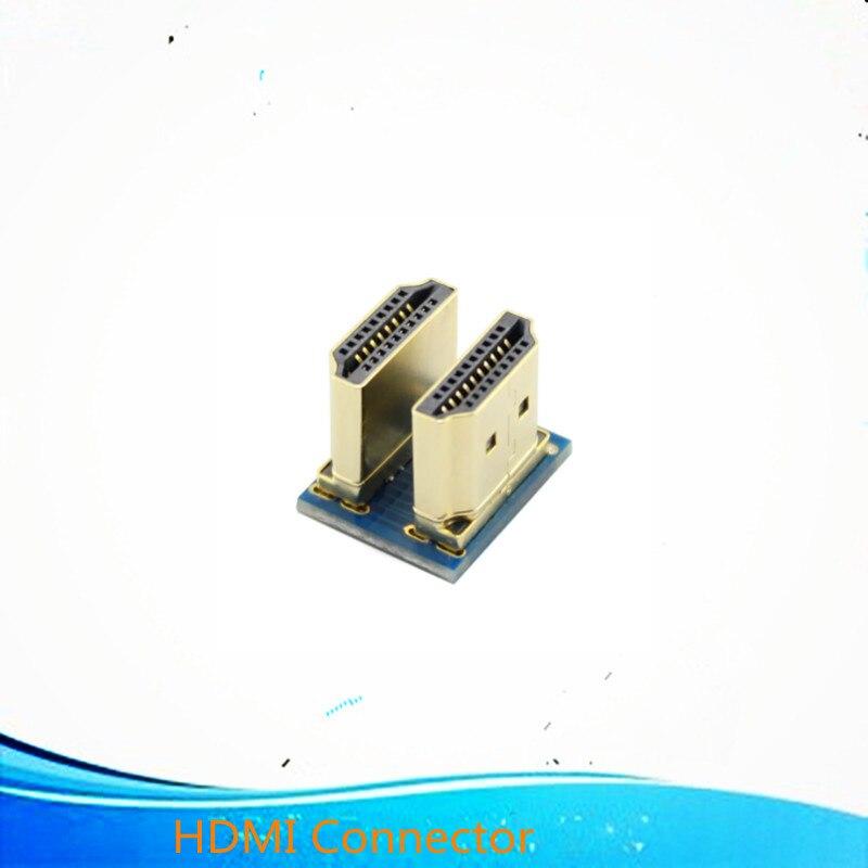 HDMI разъем для 5 дюймов HDMI Raspberry Pi экран дисплей DIY HDMI разъем комплект Rpi аксессуар для соединения части