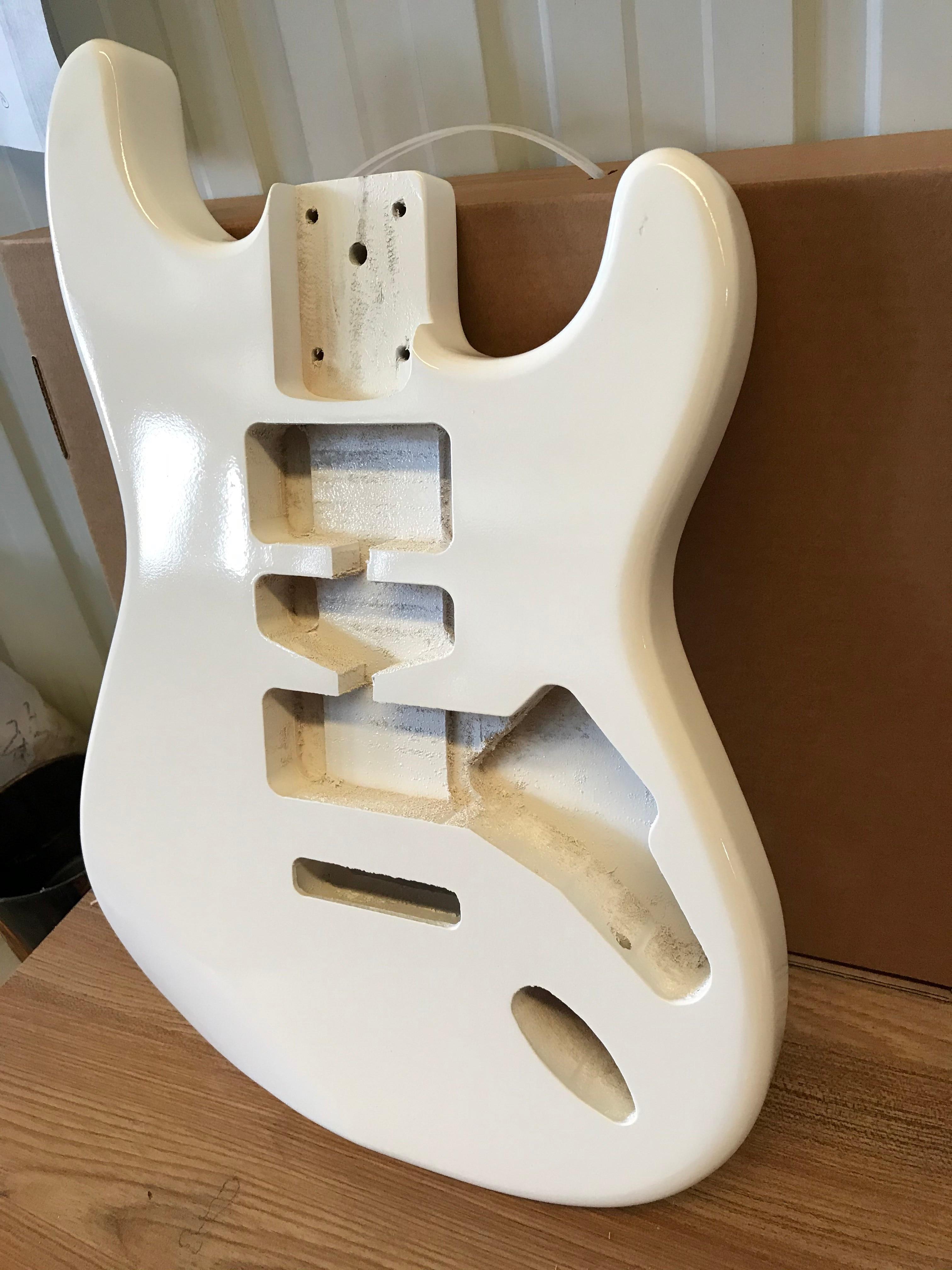 ST Electric Guitar Body Poplar Wood Electric Guitar Panel Strat Body ST Barrel Free Shipping enlarge