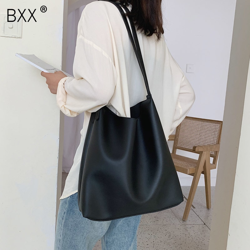 [BXX] Quality Crossbody Bag For Women 2021 Spring New Arrival High Capacity Shoulder Messenger Bag Female Fashion Handbags HK344