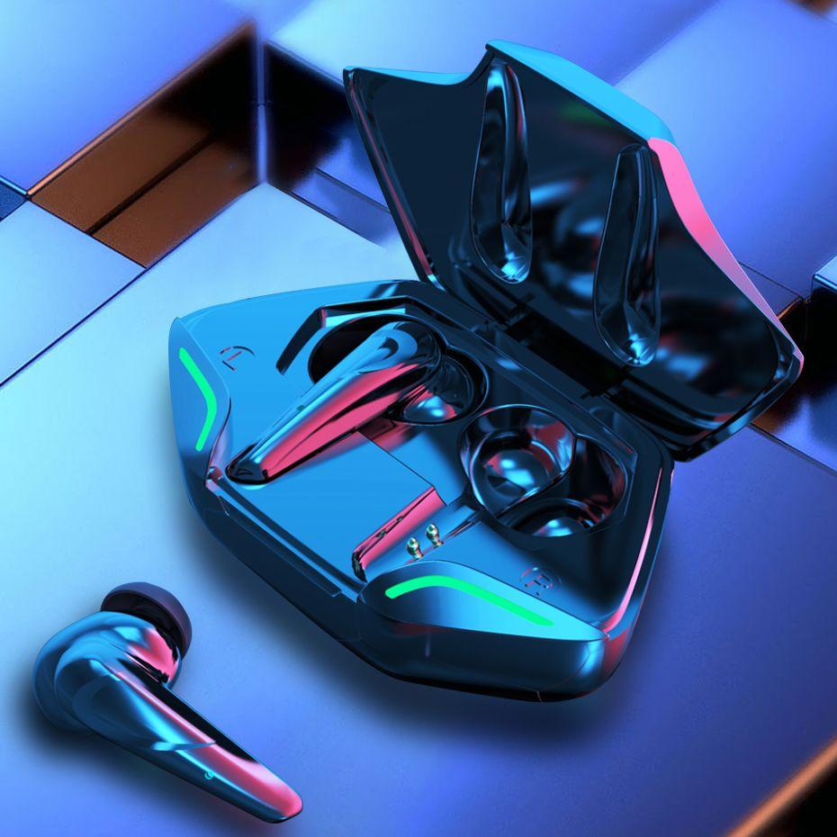 Tws Gaming Bass Met Microfoon Hd In Oortelefoon Headset Stand In Ear Mic Houder Sport 5.1 Oortelefoon Oordopjes Geluid Bluetooth mini