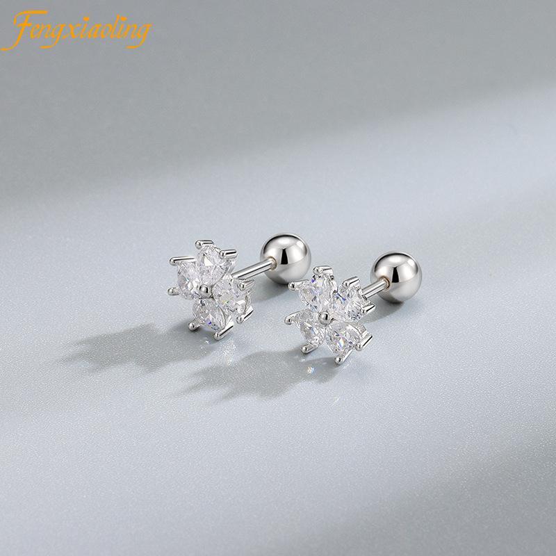 fengxiaoling-серьги-гвоздики-из-стерлингового-серебра-925-пробы-милые-циркониевые-серьги-для-ногтей-мини-хрустальные-серьги-с-цветком-модные-юв