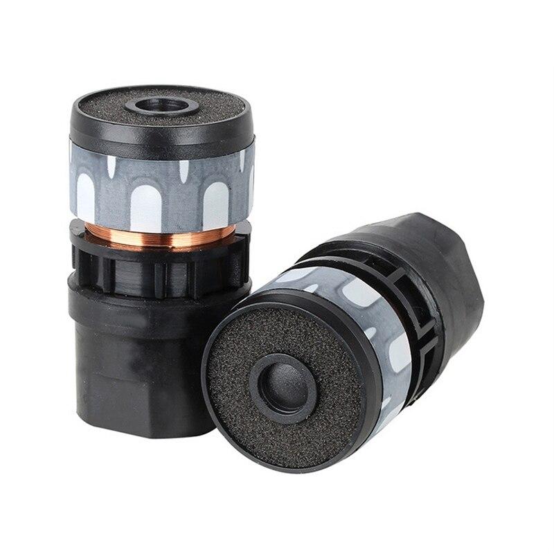 N-813 2PCS Microphone Cartridge Dynamic Microphones Core Capsule Universal Mic Replace Repair enlarge