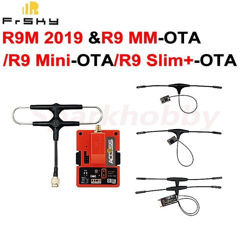 1set Frsky R9M 2019 وحدة مع R9MM-OTA R9mini-OTA R9slim + OTA عدة R9M 2019 وحدة و R9 استقبال 900MHz طويلة المدى نظام RC