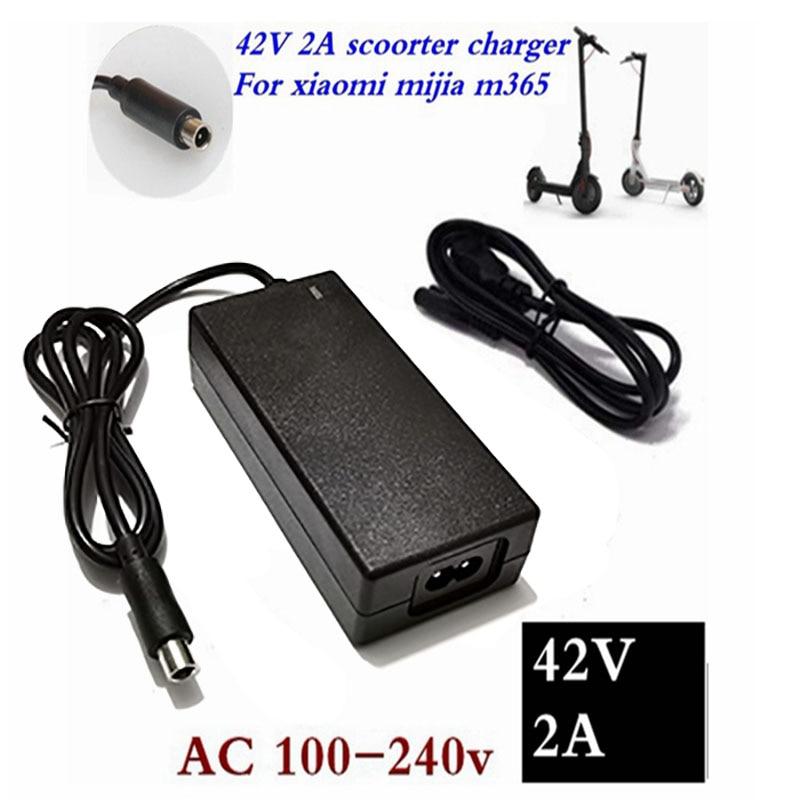 42V 2A Niedrigsten preis Elektrische Roller Ladegerät Adapter für Xiaomi Mijia M365 Ninebot Es1 Es2 Elektrische Roller Zubehör ladegerät