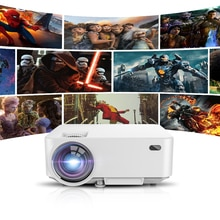 XIDU Mini Projector For TV Projectors Mobile Phone Full HD Support 1080p Smart Android 4000 Lumens