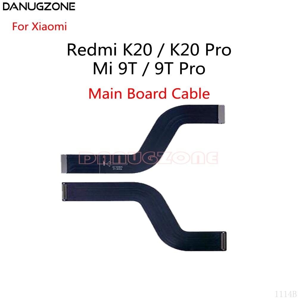 30 unids/lote para Xiaomi Redmi K20 / K20 Pro / Mi 9T Global / Mi 9T PRO placa principal Flex Cable de la placa base conectar LCDFlex Cable