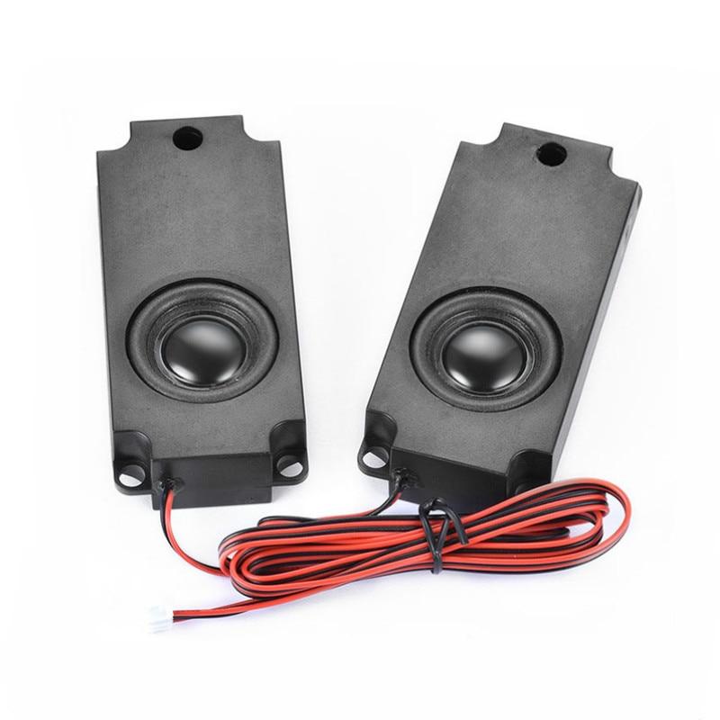 SOTAMIA 2Pcs Full Range Sound Cavity TV Speaker 10045 3 W 4 Ohm DIY PC Speaker Computer Advertising Loudspeaker Home Theater