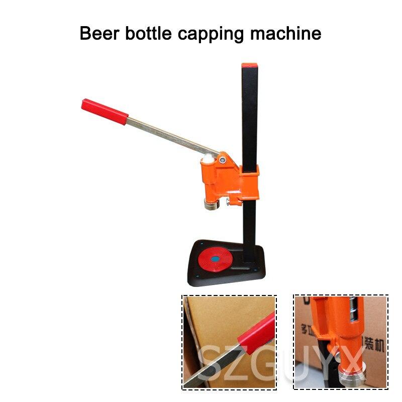 Commercial manual bottled beer capper Desktop Soda Glass Bottle Cap Sealing Machine Small capping machine