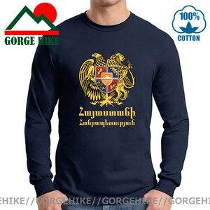 Armenia Armenian ARM of Coat t shirts fashion 2021 jerseys nation Long Sleeve t-shirt Brand clothes tees country sporting tshirt