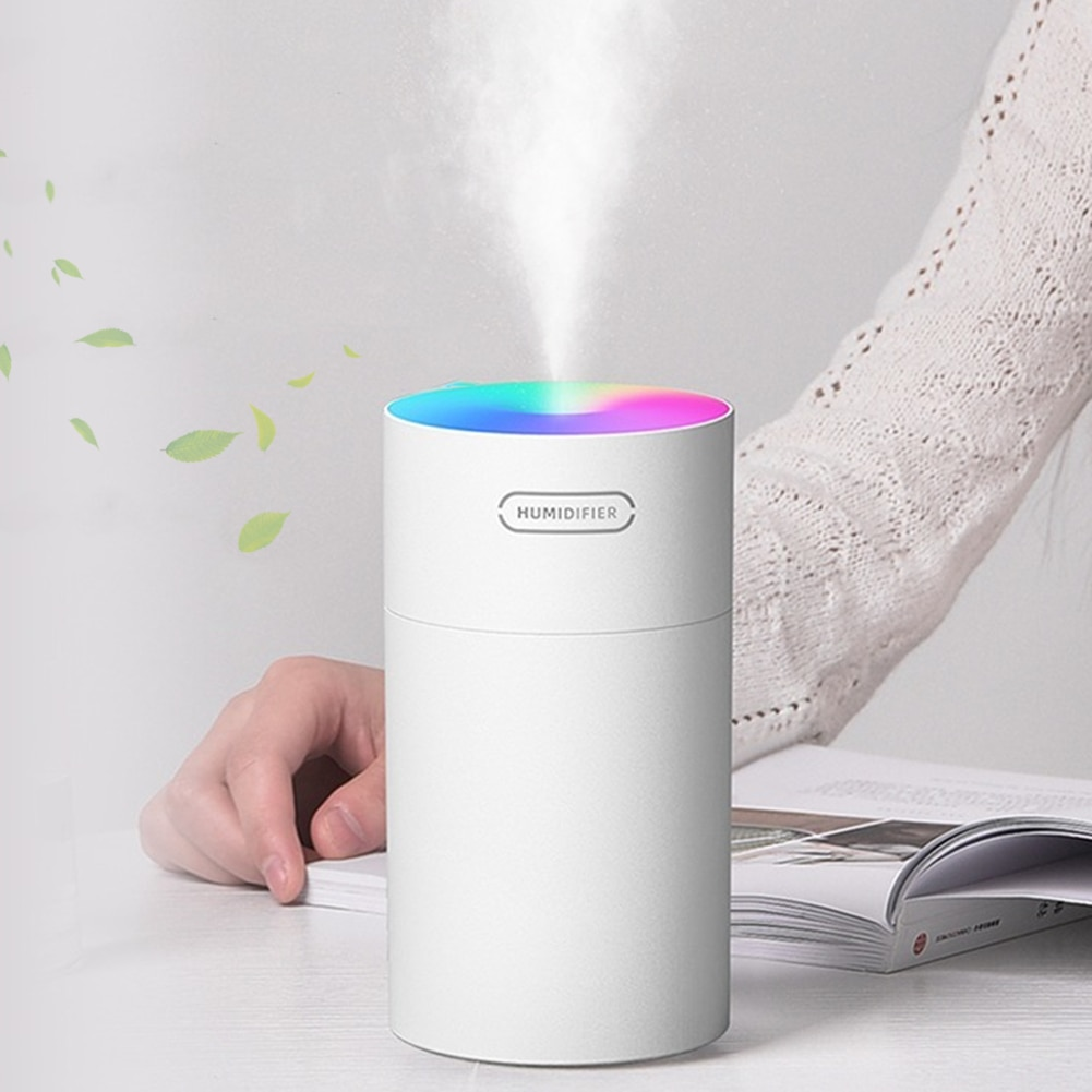 300ml Air Humidifier Ultrasonic Aroma Essential Oil Diffuser USB Cool Mist Maker Purifier Aromatherapy for Car Home mini usb air humidifier donuts purifier aroma diffuser for home humidificador essential oil diffuser aromatherapy mist maker