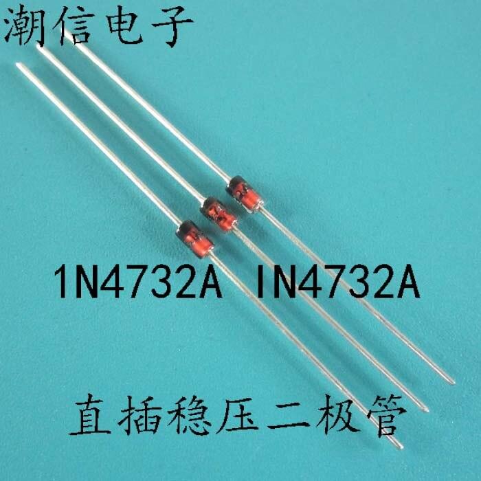 10cps 1n4732a in4732a tensão que estabiliza dois polo 1w 4.7v
