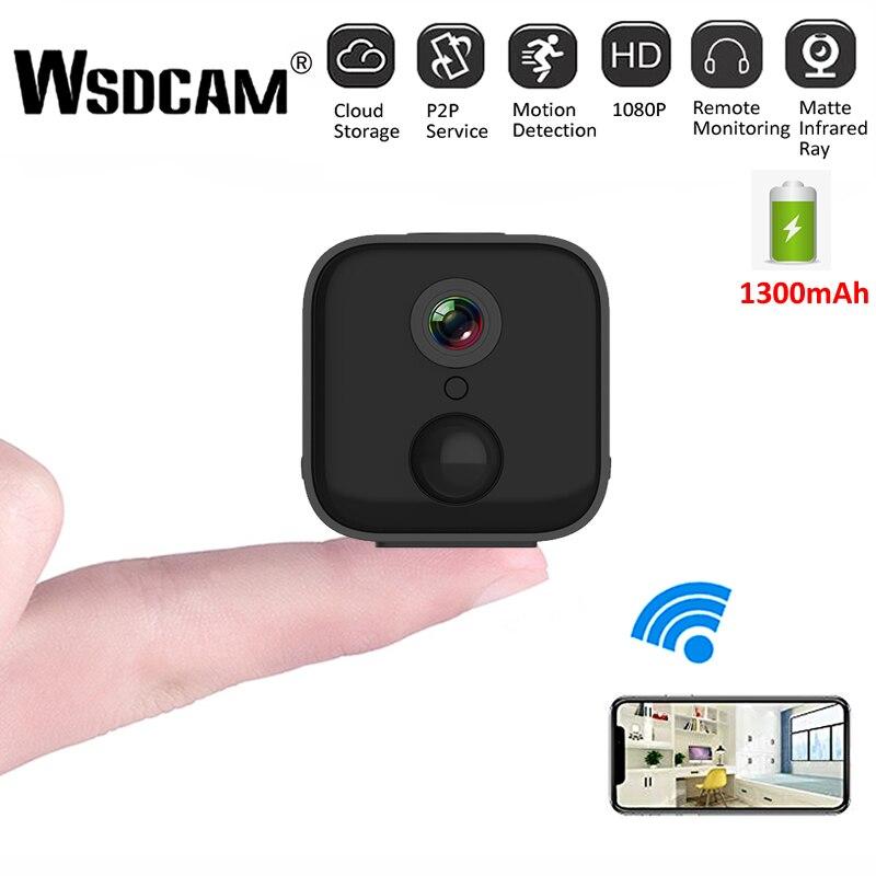 Mini cámara WiFi A21 HD 1080P IR visión nocturna hogar cámara IP de seguridad CCTV detección de movimiento Monitor de bebé videocámara DVR inalámbrica