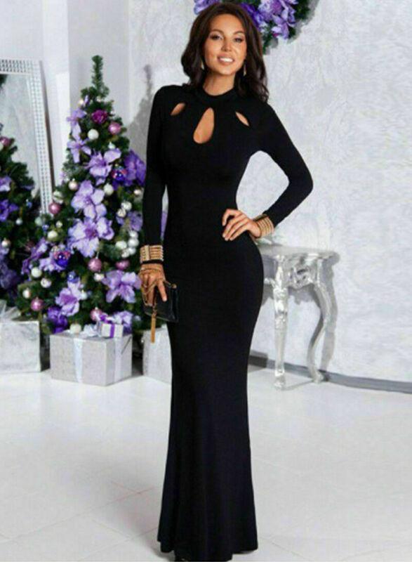 Women Fishtail Lace Dresses Long Christmas Party Dress Prom Gown Women's Fashion wholesale Clothing