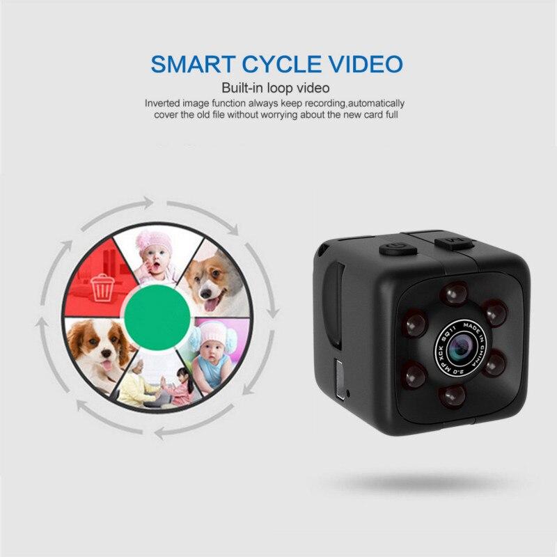 New SQ11 Mini Camera 1080P Portable Cube Camera Mini Camera Night Vision Motion Detection Mini Camco