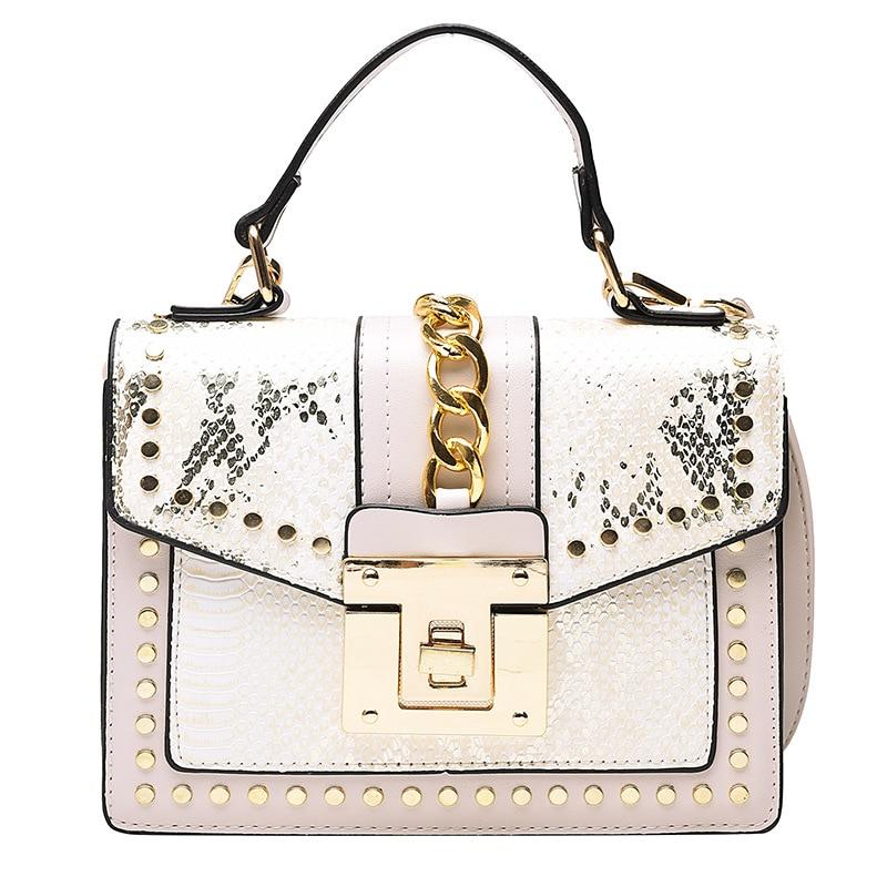 AliExpress - Female Shoulder Bags 2021 Fashion Square PU Leather Small Women Messenger Bag Luxury Designer Ladies Purse Top Handle Handbag