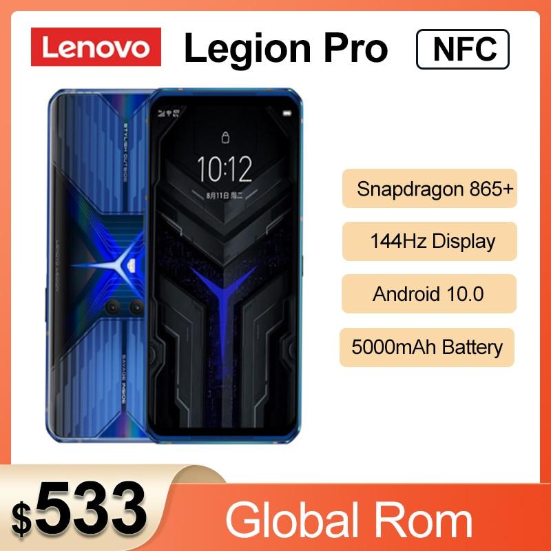 2020 оригинальный телефон Lenovo Легион Pro 5G игровой телефон 8 ГБ 128 6,65 ''Snapdragon8