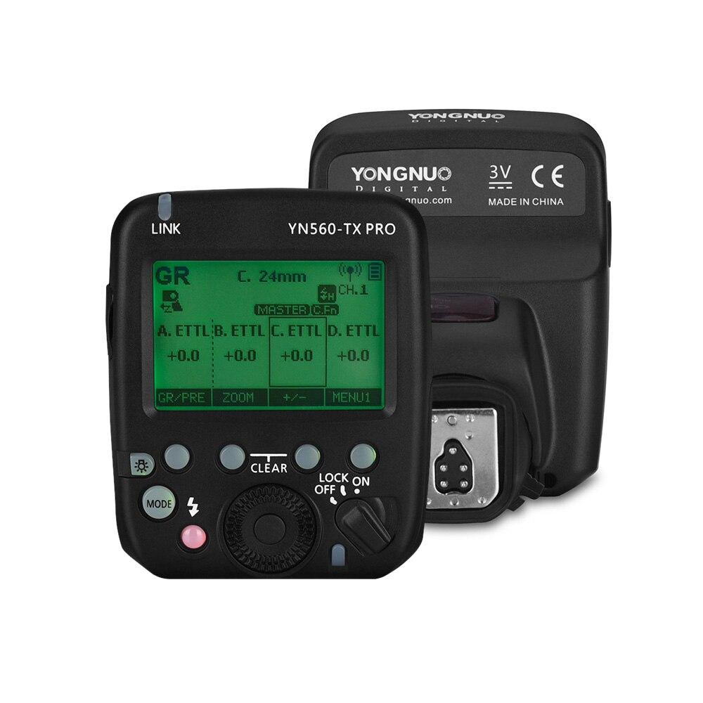 Yongnuo YN560-TX pro 2.4g em-câmera flash gatilho transmissor sem fio para câmera canon dslr yn862/yn968/yn200/yn560 speedlite
