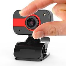 360 Degree USB 12M HD Webcam Web Cam Clip-on Digital Camcorder with Microphone for Laptop PC Compute