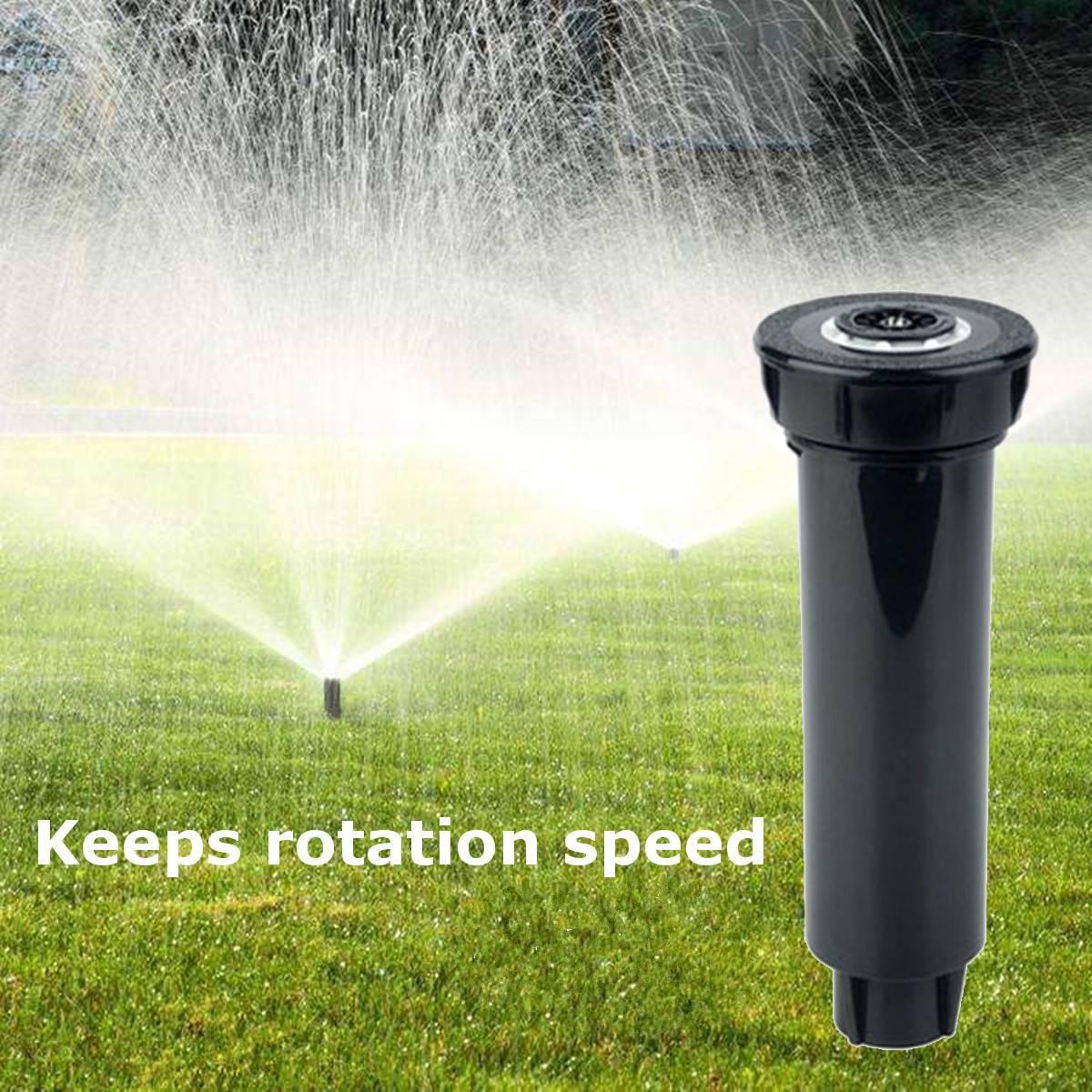 Equipo de irrigación de 360 grados, rociador con cabezal de rociado, boquilla de elevación, herramienta de riego Pop-up para suministros de jardín