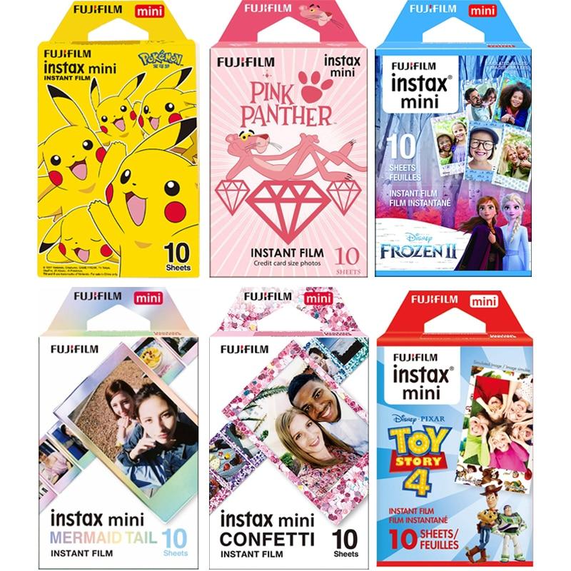 Пленка Fujifilm Instax Mini на выбор, фоторамка 10 листов, фотобумага для Instax Mini 9 Mini 8 Instant Mini 70 90, пленочная камера