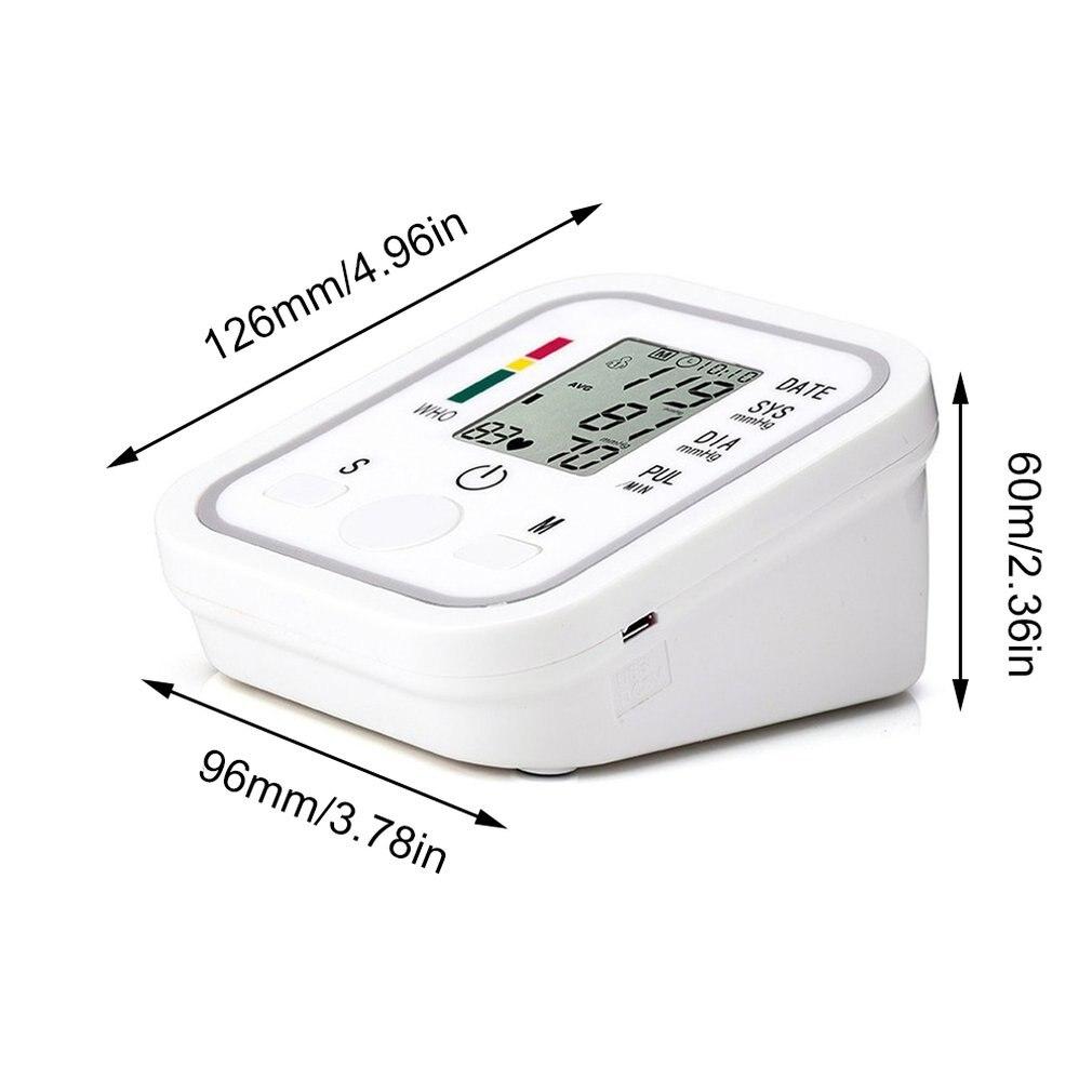 Blood pressure meter monitor tanomete tensiometros Sphygmomanometer digitales Arm Automatic wrist cuff for tonometer Tensiometro  - buy with discount