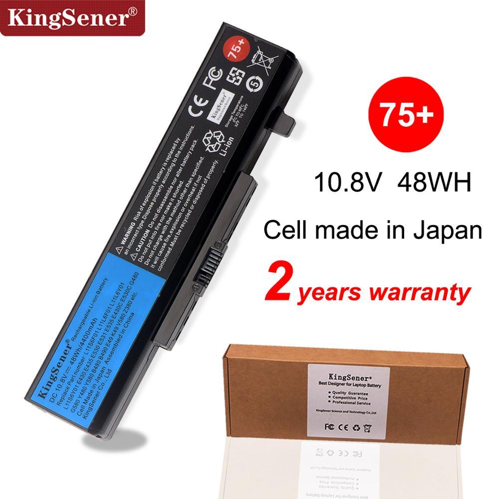 KingSener بطارية كمبيوتر محمول لينوفو ثينك باد إيدج E430 E440 E431 E435 E530 E531 E535 E540 E430C E545 K49A E49 45N1043/42 75 +