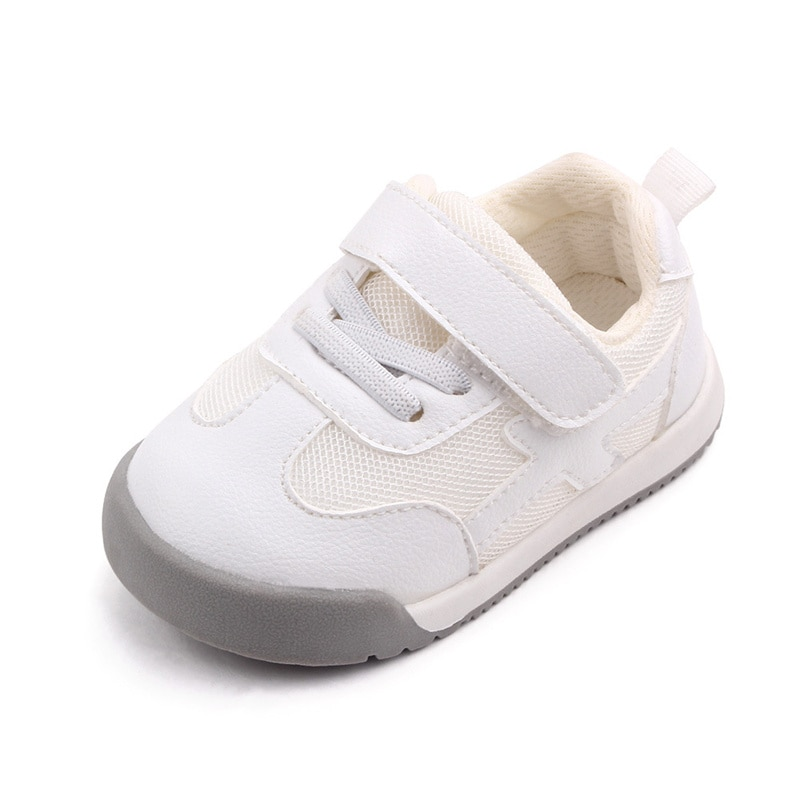 2021 Autumn Baby Girl Boy Toddler Shoes Casual Infant Sport Shoes Soft Bottom Comfortable Breathable Kid Sneaker Pink Shoes