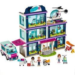3028 932 Pcs Cidade Heartlake Hospital Blocos de Construção de Tijolos Brinquedos para As Crianças Meninas Compatível Lepininglys Amigos 41318