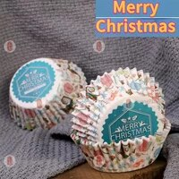 100 diy cake muffin paper cups christmas cute color liner kitchen baking molds pleasing to the eyes friends connecting feelings